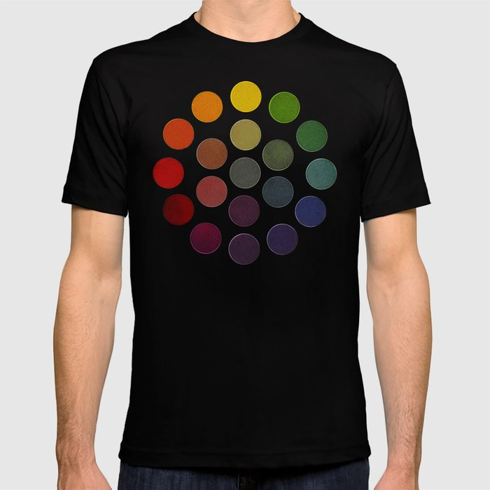Parsons Spectrum Color Chart 1912 Remake 2 Enhanced T Shirt By