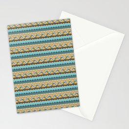 navajo pattern 3 Stationery Cards