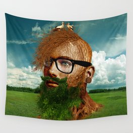 Eco Hipster Wall Tapestry