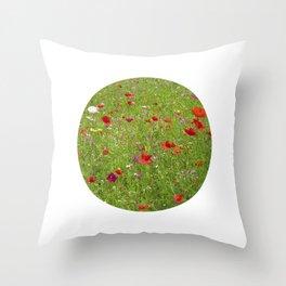 summer meadow IX Throw Pillow