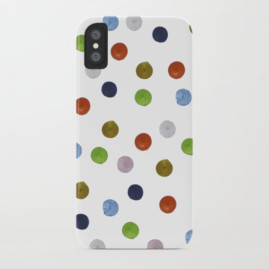 Pinpoint Dots iPhone Case