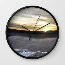Rising Dunes Wall Clock