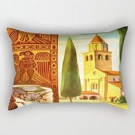 Aquileia Italy - Vintage Travel Rectangular Pillow