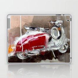 Red Lambretta Laptop & iPad Skin