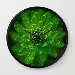 Green Flower   HD Design Wall Clock