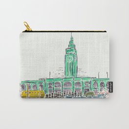 Ferry Building San Francisco Carry-All Pouch