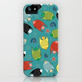 ALOHA Fishes iPhone Case