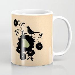Georgia - State Papercut Print Coffee Mug