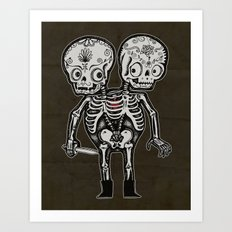 Twinsies Art Print