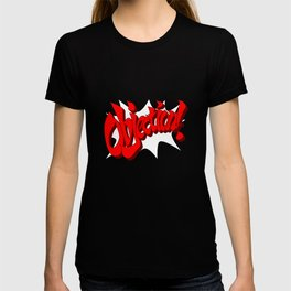 ACE ATTORNEY PHOENIX WRIGHT: OBJECTION! T-shirt