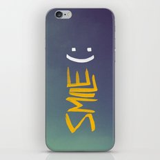 Smile (: iPhone & iPod Skin