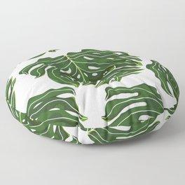 Monstera Pug Floor Pillow