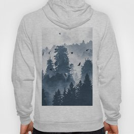 Amazing Forest Morning Nature Photography Hoody