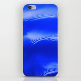 Ocean Decor, Home & Accessories, Waves, Blue, Art Prints, Wall Art iPhone Skin