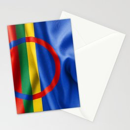 Sami Flag Stationery Cards
