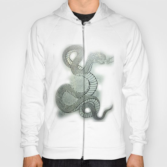 snake in the garden Hoody