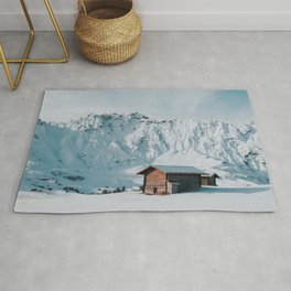 Hello Winter - Landscape and Nature Photography Rug