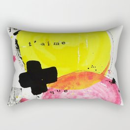 Je t'aime + que toi Rectangular Pillow