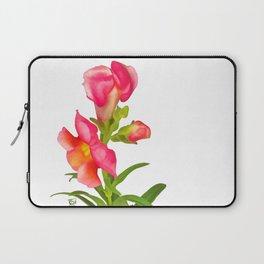 Pink Snapdragon Laptop Sleeve