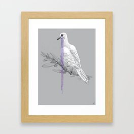 When Doves Cry Framed Art Print