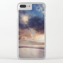 Tranquility of Dune Clear iPhone Case