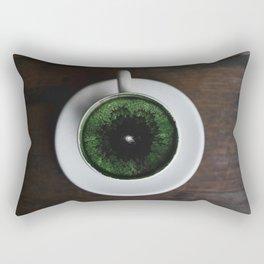 World in a cup Rectangular Pillow