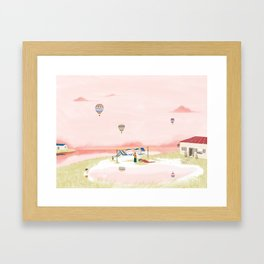 Reap Framed Art Print