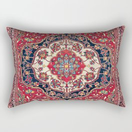 Sarouk Farahan Arak West Persian Rug Print Rectangular Pillow
