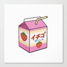 Ichigo Milk Canvas Print