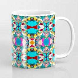 184 - Hot Air Balloons Abstract Pattern Coffee Mug