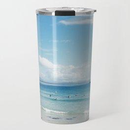 Beach Blue Travel Mug