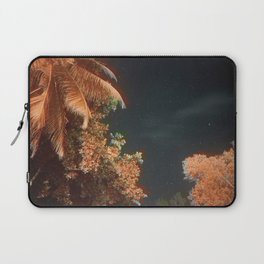 Seychellian palmtrees and the Milky Way Laptop Sleeve
