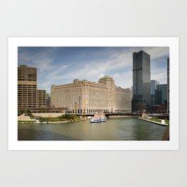 Chicago Cityscape Photos Art Print