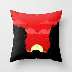Break Bad - The Desert Throw Pillow
