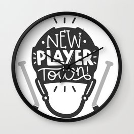 New player in town Wall Clock