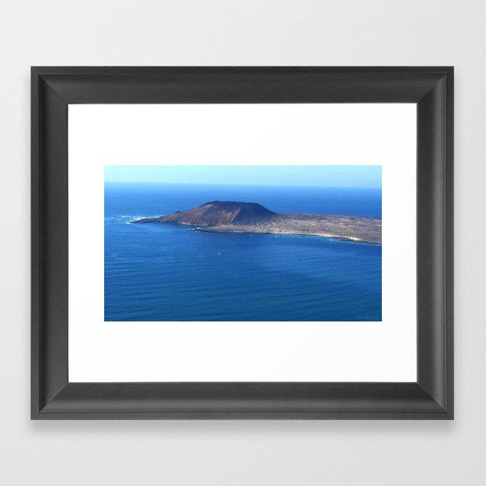 Caleta de Sebo Framed Art Print