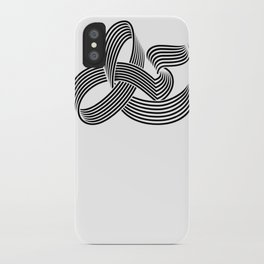 Eye bending Ampersand. iPhone Case