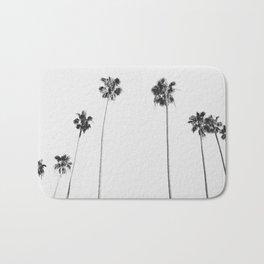 Black & White Palms Badematte
