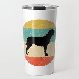 Bullmastiff Dog Gift design Travel Mug