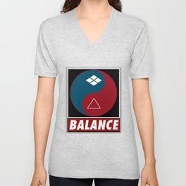 Samurai Balance Unisex V-Neck