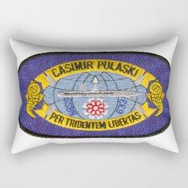 USS CASIMIR PULASKI (SSBN-633) PATCH Rectangular Pillow