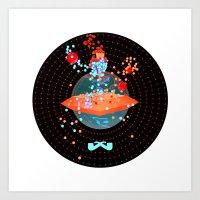 portal Art Prints featuring Portal. by Sobriquet Studio