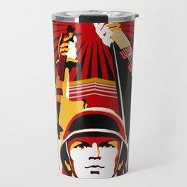 Art print: Propaganda Musik Travel Mug