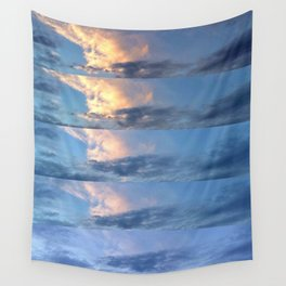 sunset progression Wall Tapestry