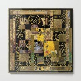 Klimt art Metal Print
