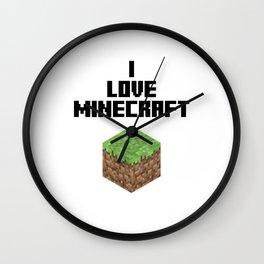 I LOVE MINE Wall Clock