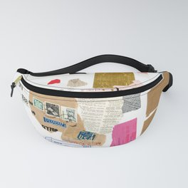Paper Trail I  Fanny Pack