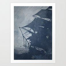 Assassin's Creed - Black Flag Art Print