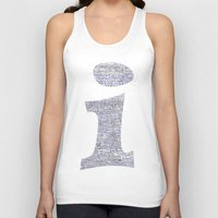 physics Tank Tops featuring i - Physics Rosetta Stone [T-Shirts / Hoodies / Tote Bags] by Design Gregory