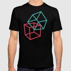 II: Hexaedro MEDIUM Black Mens Fitted Tee